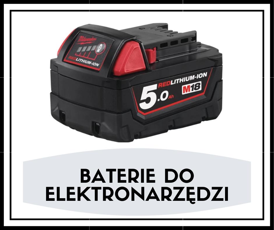 Baterie do elektronarzędzi